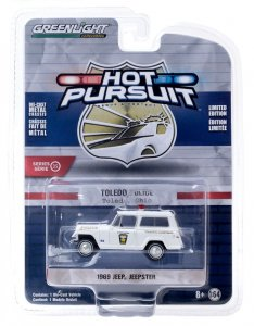 Greenlight Hot Pursuit Serie 35 1969 Kaiser Jeep Jeepster 1:64