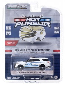Greenlight Hot Pursuit Serie 35 2020 Ford Police Interceptor Utility 1:64