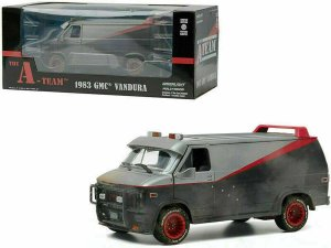 Greenlight Chevy 1983 GMC A-Team Van Weathered Version 1:24