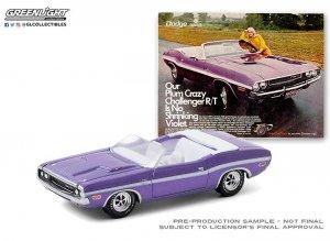Greenlight 1970 Dodge Challenger R/T Convertible 1:64