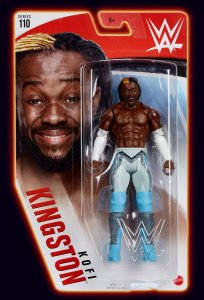 WWE Mattel Basic Serie 110 Kofi Kingston