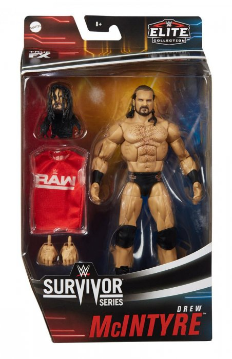 WWE Mattel Elite Survivor Series 2020 Drew McIntyre