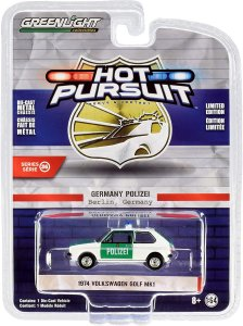 Greenlight Hot Pursuit Serie 36 1974 Volkswagen Golf MK 1:64