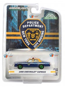 Greenlight 1990 Chevrolet Caprice New York City Housing Authority Police Department Supervisor 1:64 - GREEN MACHINE