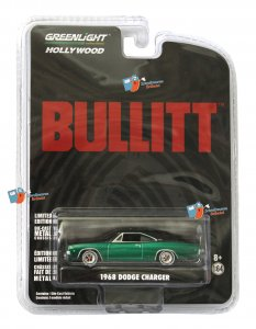 Dodge Charger 1968 Bullitt 1:64 Greenlight - GREEN MACHINE