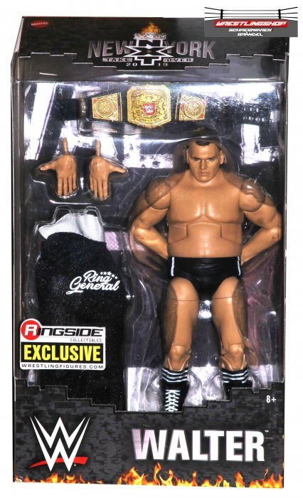 WWE Mattel Elite Ringside Exclusive Walter