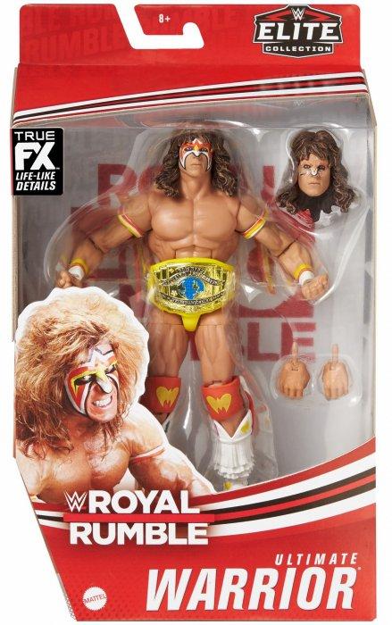 WWE Mattel Elite Royal Rumble Serie 2021 Ultimate Warrior