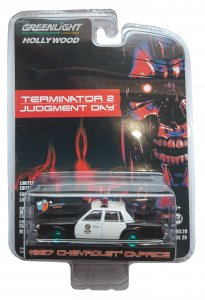 Greenlight The Terminator 1987 Chevrolet Caprice Metropolitan Police 1:64 Green Machine