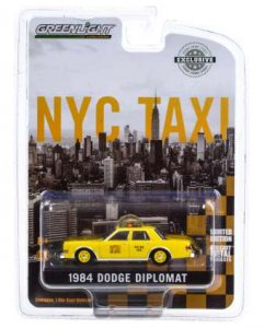 Dodge Diplomat 1984 New York City Taxi Greenlight 1:64