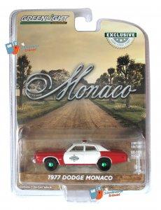 Greenlight 1977 Dodge Monaco Finchburg County Sheriff 1:64 Green Machine