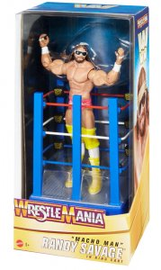 WWE Mattel Basic Wrestlemania 37 Celebration Macho Man Randy Savage