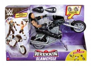 WWE Mattel Wrekkin Basic Undertaker mit Slam Cycle Motorrad