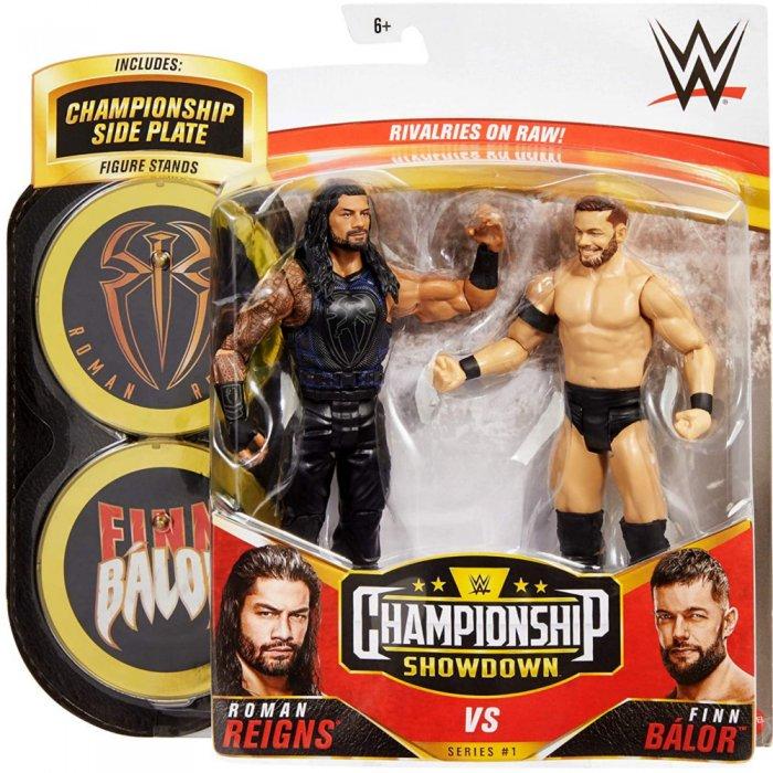 WWE Mattel Battle Pack Championship Showdown Roman Reigns und Finn Balor