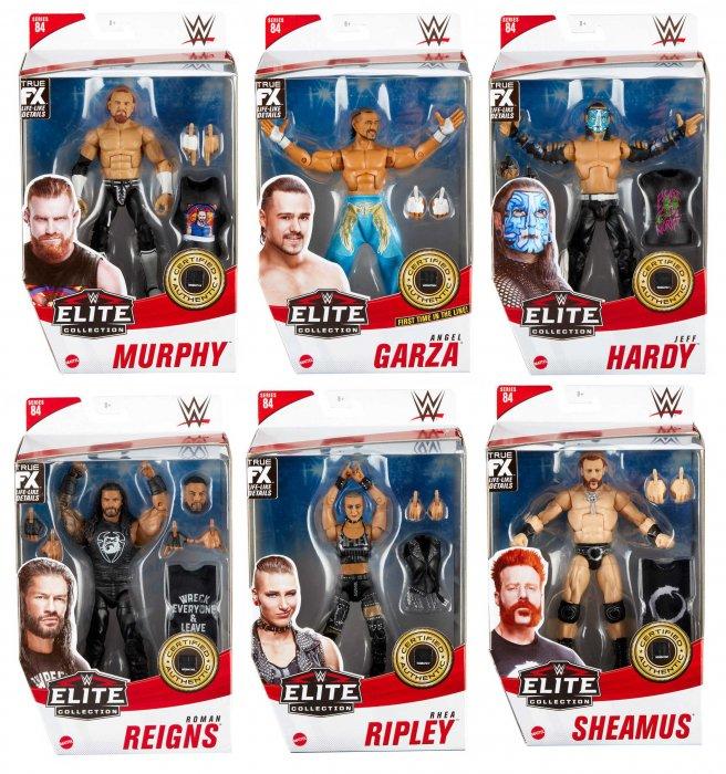 WWE Mattel Elite Serie 84 Komplett