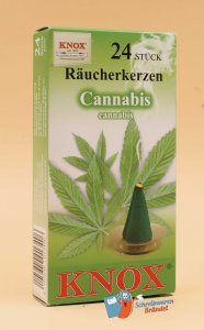 Räucherkerzen Knox Cannabis