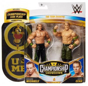 WWE Mattel Battle Pack Championship Showdown Shawn Michaels und John Cena