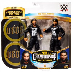 WWE Mattel Battle Pack Championship Showdown Jimmy Uso und Jey Uso