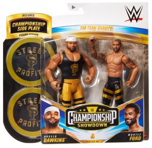 WWE Mattel Battle Pack Championship Showdown Montez Ford und Angelo Dawkins