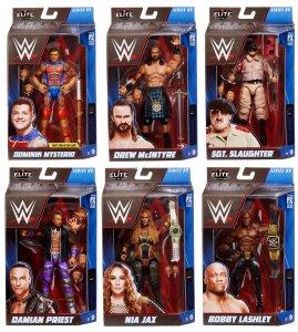 WWE Mattel Elite Serie 89 Komplett