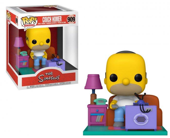Funko Pop Vinyl Figur The Simpsons Homer Watching TV