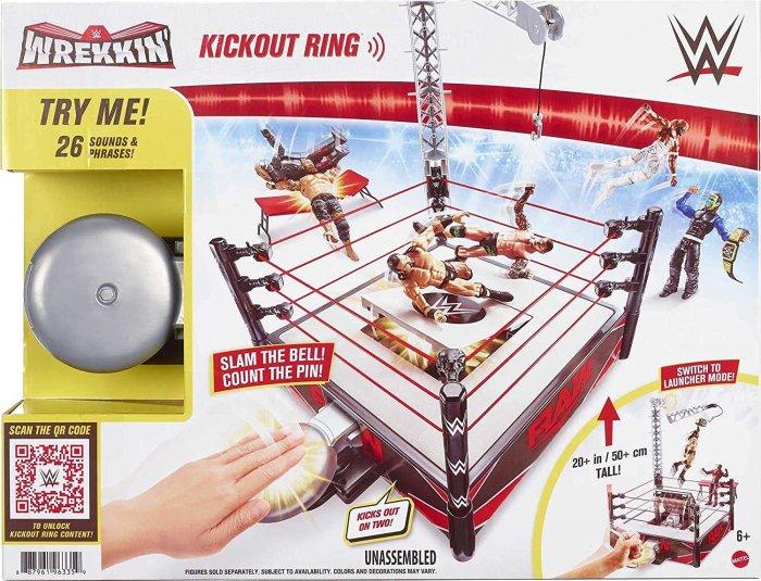 WWE Mattel Wrekkin Raw Kickout Ring