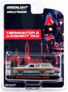 Greenlight The Terminator 2 1980 Ford LTD Country Squire 1:64