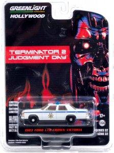 Greenlight The Terminator 2 1983 Ford LTD Crown Victoria Police 1:64