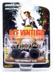 Greenlight Ace Ventura 1989 Chevrolet S-10 Extended Cab Monster Truck 1:64