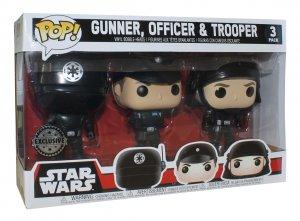Funko Pop Vinyl Figur Star Wars Gunner Officer und Trooper Death Star