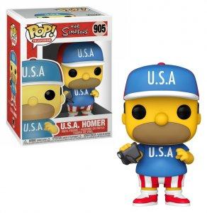 Funko Pop Vinyl Figur The Simpsons USA Homer