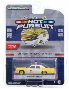 Greenlight Hot Pursuit Serie 38 1974 Dodge Monaco 1:64