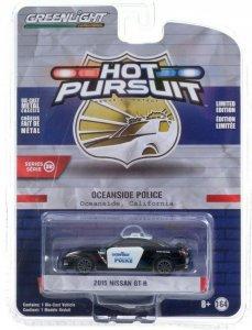 Greenlight Hot Pursuit Serie 38 2015 Nissan GT-R 1:64