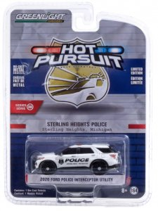 Greenlight Hot Pursuit Serie 38 2020 Ford Police Interceptor Utility 1:64