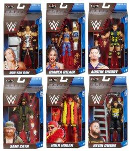 WWE Mattel Elite Serie 91 Komplett