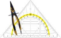 Zirkel / Lineale / Dreiecke