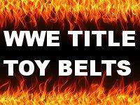 WWE Mattel Toy Title Belts
